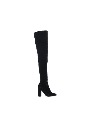Blackbirdthigh High Velvet Boot