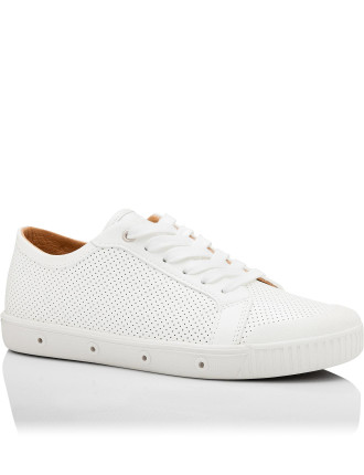 SPRING COURT G2 PUNCHED NAPPA LEATHER SNEAKER
