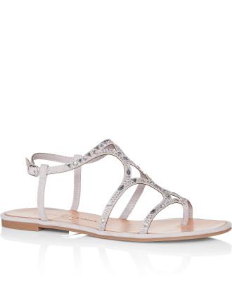 Genevieve Flat Sandal