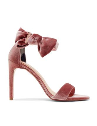 Torabel Velvet Bow Heel