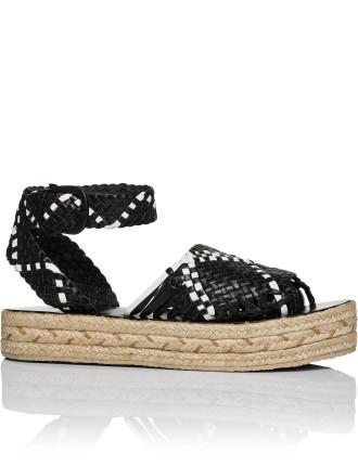 Woven Espadrille Sandal