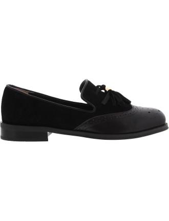 Cali Flat Loafer With Tassle Detail