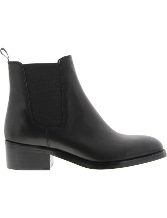 Pristine Elastic Gusset Ankle Boot