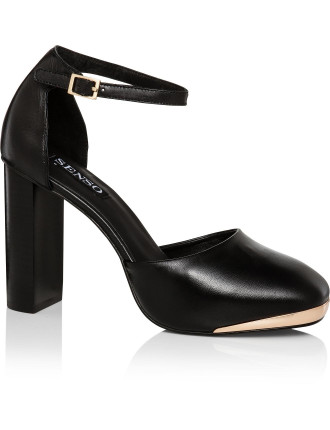 Zac II Block Heel Pump
