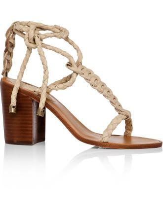 Link Weave Tie Heel