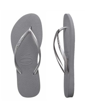 Slim Metallic Steel Grey
