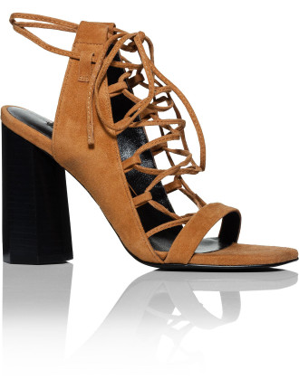 Niala IV Lace Up Block Heel