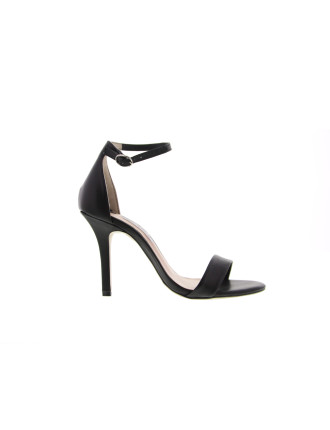 Strappy Mid Stiletto Heel Sandal