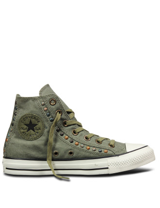 Hardware High Top Sneaker