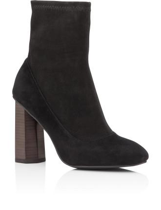 Cube Heel Boot