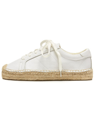Platform Tennis Sneaker - Leather