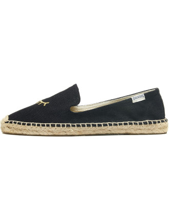 Wink Black Gold Slipper