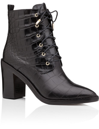 Lace Up Dress Boot