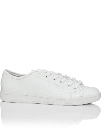 Baylee Croc Embossed Sneaker