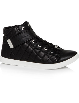 Betty Quilted High Top Sneaker