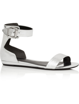 Essex - Flat Sandal with Ankle Buckle