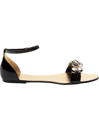 Dahlea Jewelled Flat Sandal