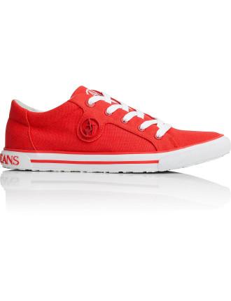 Aj Logo Canvas Sneaker