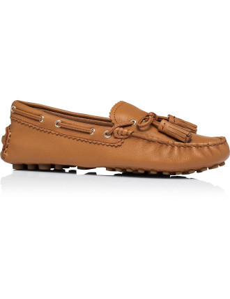 Nadia Pebble Grain Leather Loafer