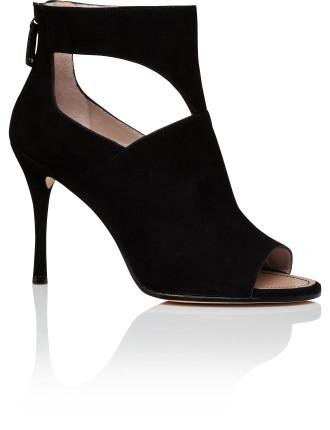 Lucia Peep Toe Ankle Boot