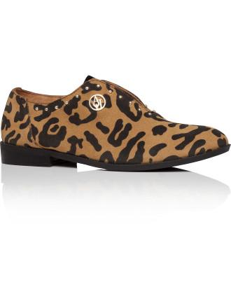 Leopard Print Lace Up