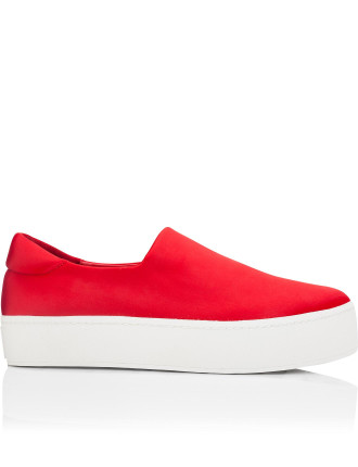 Cici Satin Slip-On