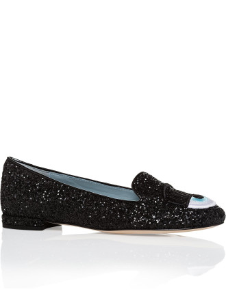 FLIRTING SLIPPER - UPDATED WITH EMBROIDERED EYES