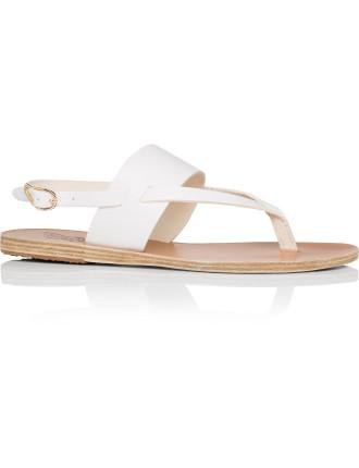 Zoe Cross Strap Sling Flat Sandal