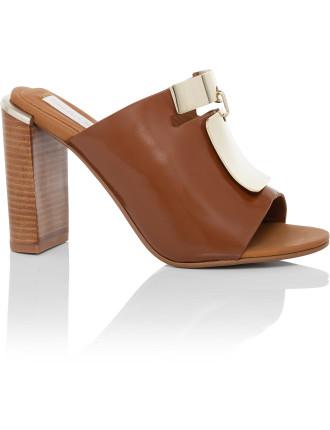 Anita Metal Plate Slide Sandal
