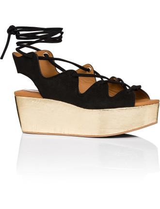 Liana Corsetry Flatform Wedge Sandal