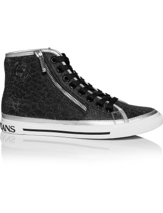 Ajeans Zip Trim Lace Up Hi Top