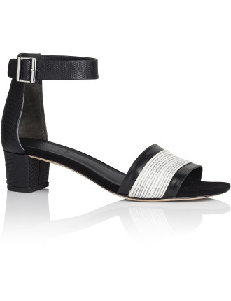 Raine Block Low Heel Sandal