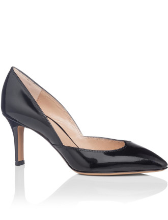 Patent Pump With Heart Shape At Front