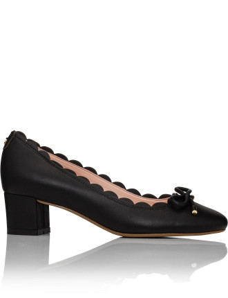 Yasmin Pump With Scallop Detail