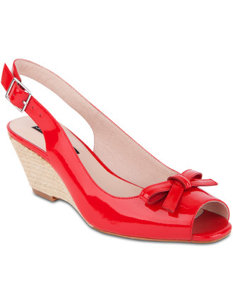 Gigi Sling Back Wedge Heel