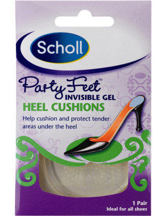 Party Feet Invisible Gel Heel Cushions