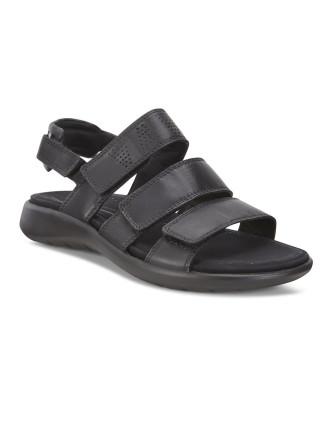 Soft 5 Sandal Black Droid