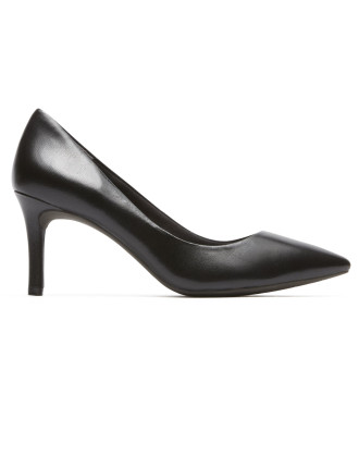 W TM75MMPTH PLAIN PUMP BLACK LEA