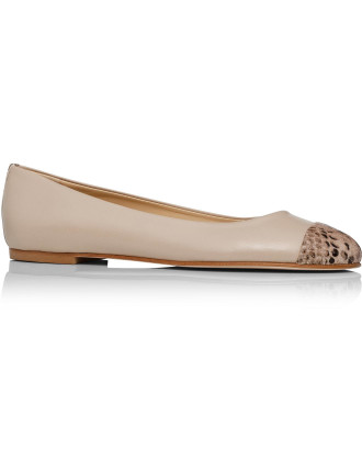 Hope Ballet Flat with Toe Cap