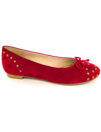Faith Ballet Flat with Studs