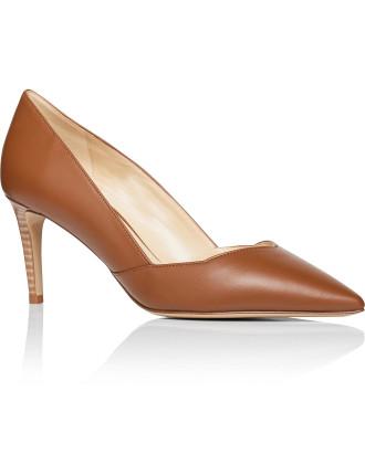 Jada Court With Stacked Heel