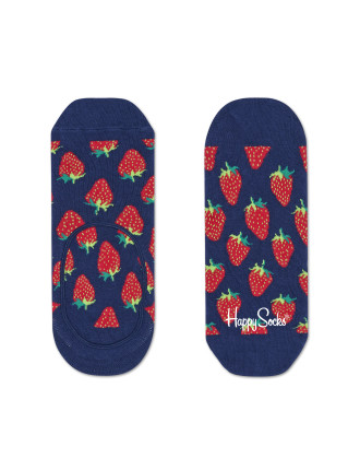 Strawberry Liner Sock