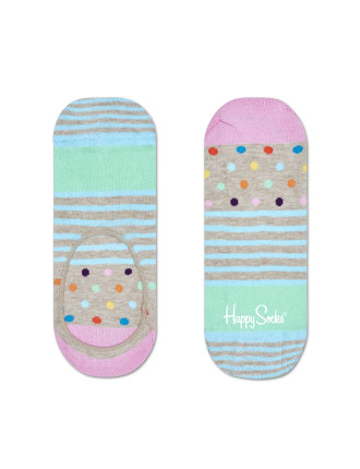 Stripes & Dots Liner Sock