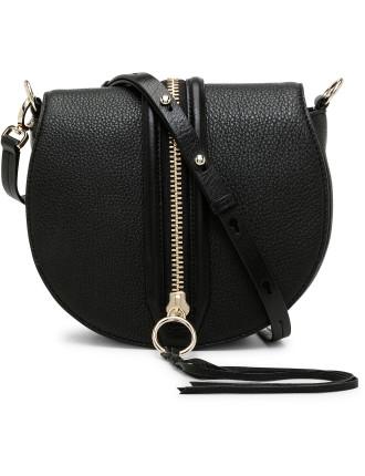 Rm S16 Mara Saddle Bag With Centre Zip