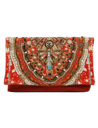 Cam W16 Cameo'S Dance Embroidered Clutch