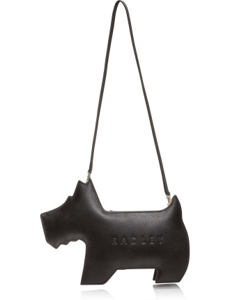 Rd S16 Radley Med Ziptop Dog Shoulder Bag