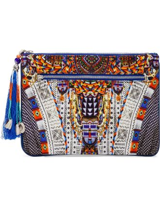 Echos Of Engai Sml Canvas Clutch