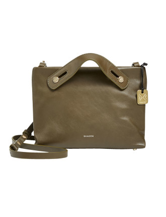 Mini Mikkeline Mini Satchel Leather Green