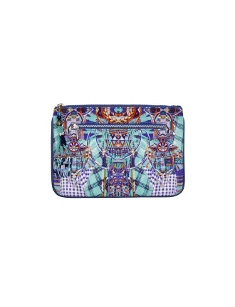 Divinity Dance Sml Canvas Clutch