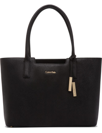 On My Corner Saffiano Square Tote